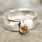 SOLD Golden Citrine Ring