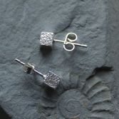 Textured Cube Studs