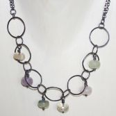 Organic Candy Quartz Necklace SOLD