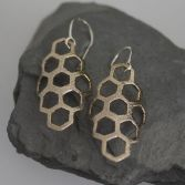 Sweet Honey Dangles Bronze