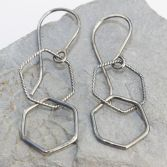 Twisted Hexagons Dangles