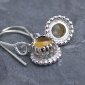 Opulent Citrine Dangle