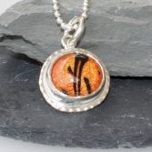 Sparkling Orange Pendant/Necklace